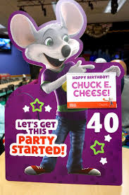 40 years of with chuck e cheese s happiness is