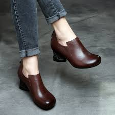 womens ankle boots in sale 2017 discount handmade womens ankle boots brown sale brand