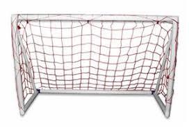 Soccer Net For Backyard by Portable Pvc Backyard 4x6 Kids Soccer Goals Each Soccer
