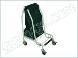 Medical Laundry Hamper by Linen Hamper U0026 Trolley Mahika Medical Pvt Ltd