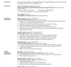 substitute resume exle objectiveaching resume kindergartenacher preschool