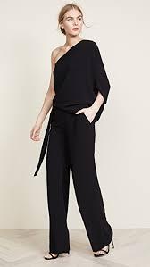 wide leg jumpsuit heritage asymmetrical wide leg jumpsuit shopbop