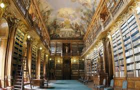 bookshelf of the week philosophical hall strahov monastery