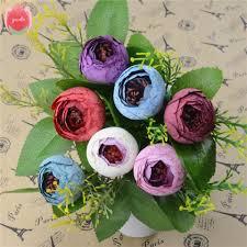 french hyacinth floral bouquet artificial silk fake vanilla flower