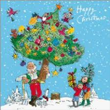 pack of 10 quentin blake help the hospices charity christmas cards
