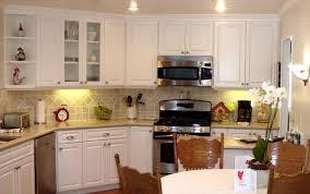 kitchen basement kitchen with natural wood kitchen cabinet