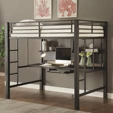 Coaster Bunks Workstation Full Loft Bed Coaster Fine Furniture - Full loft bunk beds