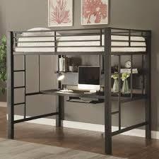 coaster bunks workstation full loft bed coaster fine furniture