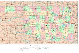 Map Of Massachusetts Counties Oklahoma Political Map