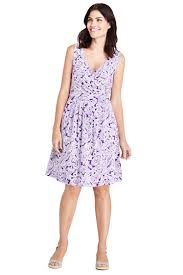 fit and flare dress women s sleeveless fit and flare dress from lands end