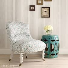 Aqua Accent Chair by Furniture Dazzzling Slipper Chairs For Home Furniture Idea