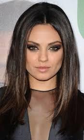 medium straight brunette hairstyles sophisticated hairstyles