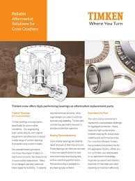 timken cone crusher bearings bearing mechanical engineering