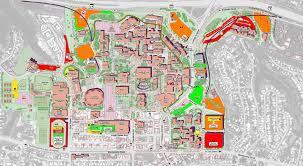 Syracuse University Map Map Of Sdsu Uptowncritters