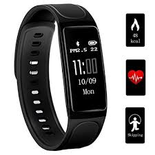 heart monitor bracelet iphone images Fitness tracker teetox 0 96inch oled heart rate jpg