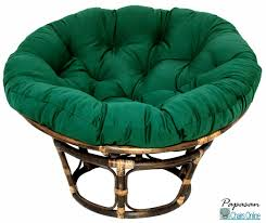 furniture single papasan chair with tapestry cushion ideas