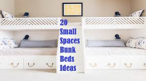 Bunk Bed For Small Spaces 20 Small Spaces Bunk Beds Ideas