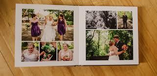 wedding album book five event center wedding album alex s silk linen book