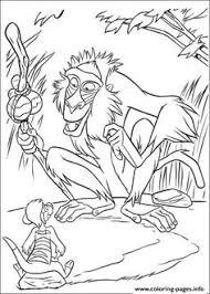 printable rafiki lion king coloring sheet printable coloring