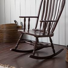 Modern Rocking Chair Nursery Belham Living Windsor Indoor Wood Rocking Chair U2013 Espresso Hayneedle