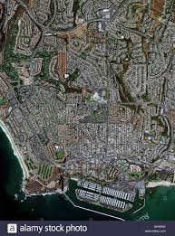 Map Of Orange County Ca Aerial Map View Above Dana Point Orange County California Stock