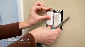 install a single pole dimmer switch the elite group property