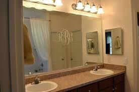 Trim Around Bathroom Mirror Bathroom Trim Ideas Bathroom Mirror Gorgeous Design Ideas Trim