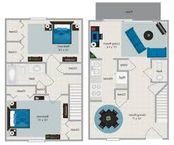 home design 2 bedroom house plans open floor plan firemens fun