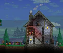 themed house what are some of your npc themed houses terraria community forums