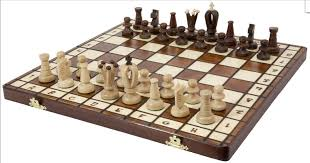 wood chess set royal 36 wooden international board vintage carved