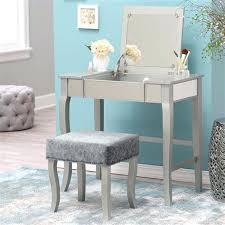 vanity chairs for bedroom mirrored vanity stool set bedroom vanities at table with mirror and