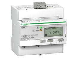 3d models schneider electric triphase kwh meter 63a modbus mid