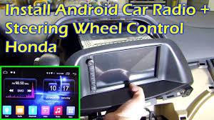 black friday car stereo sales install android car radio steering wheel control honda odyssey