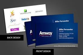 designs amway business cards vistaprint plus amway business