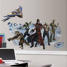 roommates rmk2651gm guardians galaxy wall graphic peel and