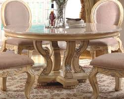 modern decoration marble top round dining table nice looking