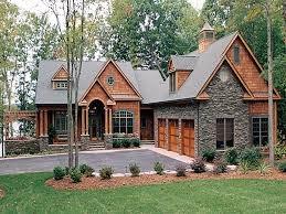 walkout ranch house plans lake house plans walkout basement craftsman home with ideas