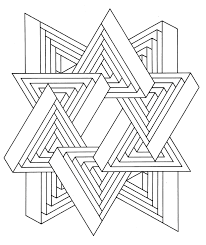 optical illusion coloring pages postare biz
