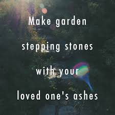 memorial stepping stones garden stepping stones with loved one s ashes