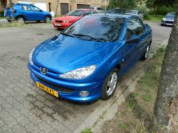 used peugeot 206 cc used peugeot 206 cc blue 2004 for sale in milton keynes baileys