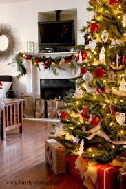 my frugal holiday living room thrifty stories