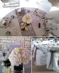 d coration mariage chetre décoration de mariage gris perlé anthracite argenté blanc la
