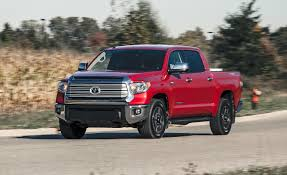 toyota tundra 18 inch wheels 2014 toyota tundra 5 7l 4x4 test review car and driver