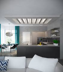 Contemporary Home Interior Designs A Pair Of Modern Homes With Distinctively Bright Color Themes
