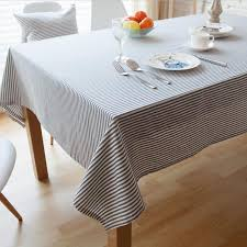 outdoor dining table cover geometric striped dining table cover japanese simple style table