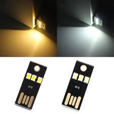 0 2w white warm white mini usb mobile power cing led light l