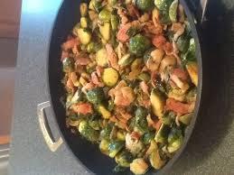 marmiton recette de cuisine choux de bruxelles aux lardons et aux chignons recipe