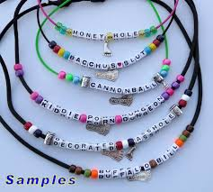 making necklace with bead images Haberdashery hash necklaces jpg