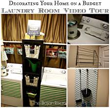 cheap decorating ideas laundry room tour u2013 the bajan texan