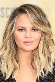 collarbone length wavy hair emejing medium length wavy hairstyles contemporary styles